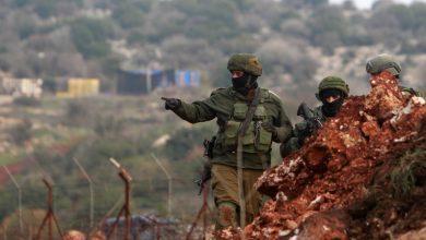 صورة حركة كثيفة للجيش الإسرائيلي على الحدود اللبنانية